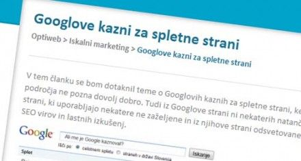 Googlove kazni