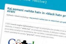 White in black hat