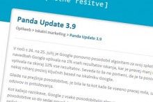Panda update 3.9