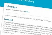 Rel=author