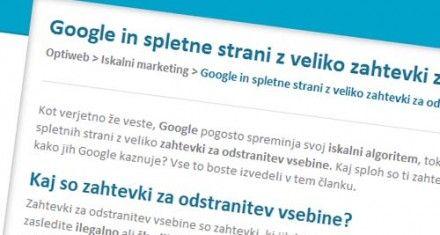 google-zahtevki