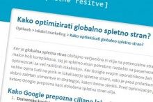 Optimizacija globalne strani