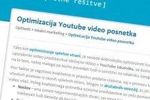Youtube optimizacija