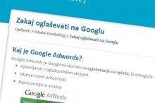 Zakaj oglaševati na Googlu