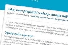 Google Adwords agencije