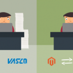 Ko se računovodski program Vasco poveže z Magento platformo
