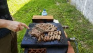 Working day in the open air - grill :-)