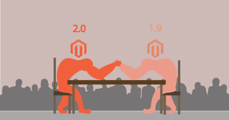Magento 1.9 vs 2.0 fight