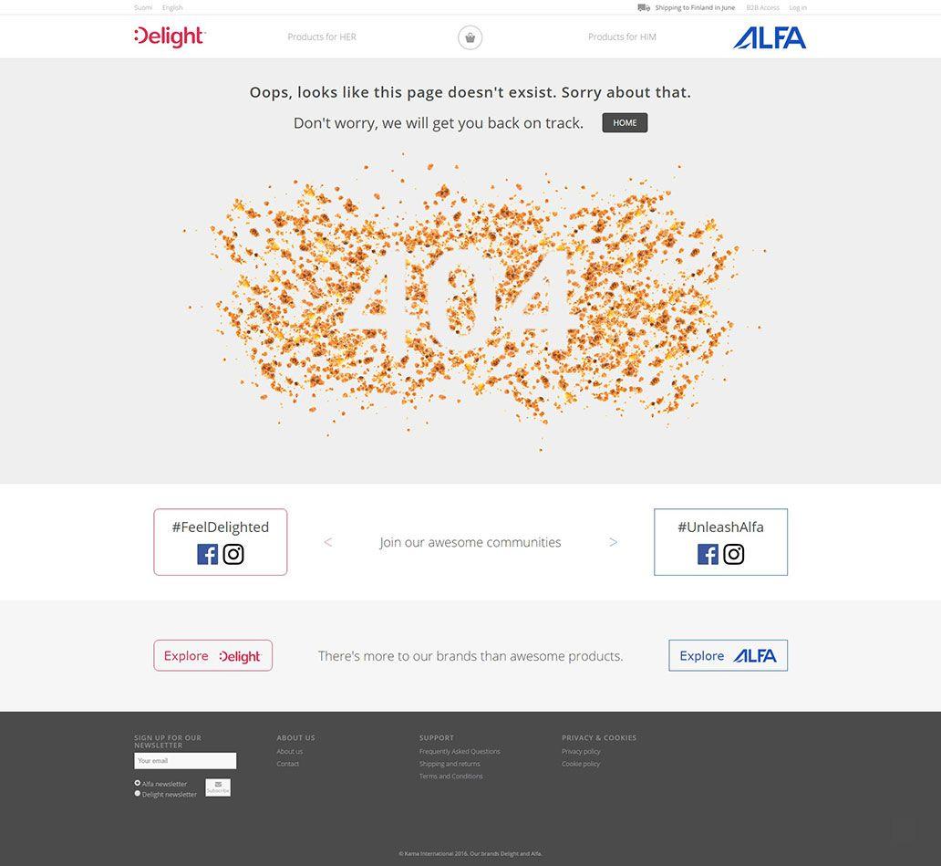 Alfandelight - Napaka 404