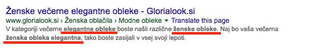glorialook meta tags