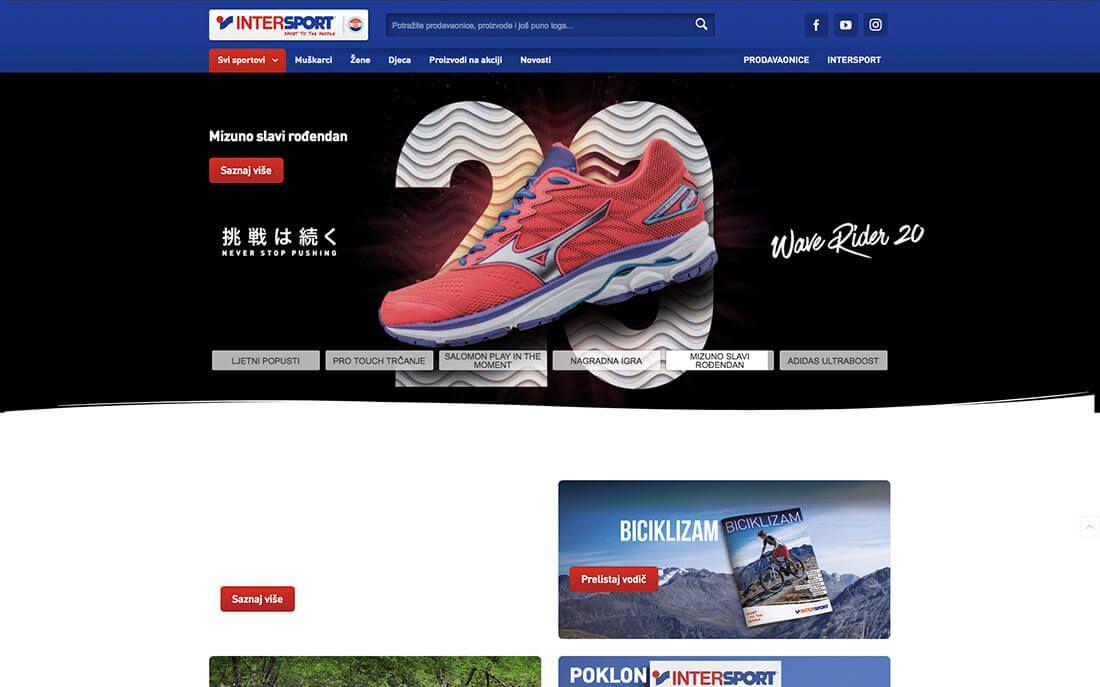 pretty nice 36991 9f4be Intersport - Optiweb Web Specialties