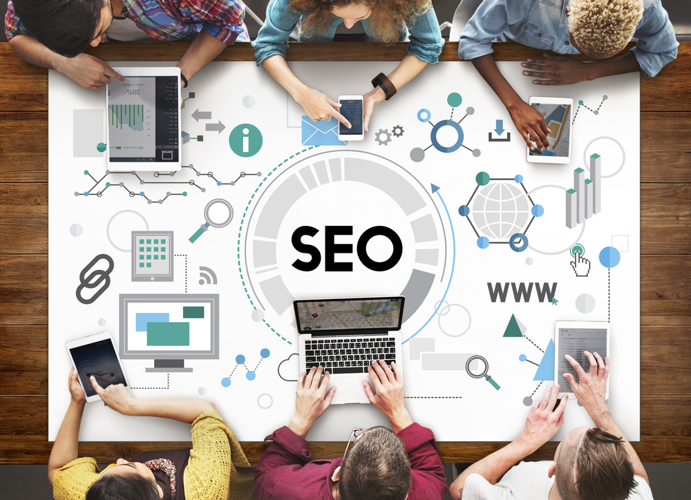 Editing websites with SEO optimization.